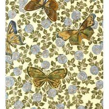 Kaufman Grandeur 2 #ETJM-12118-66 SLATE Quilt Fabric - Butterflies 1 7/8 yds