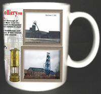 HICKLETON MAIN COLLIERY COAL MINE MUG LIMITED EDITION GIFT SOUTH YORKSHIRE PIT