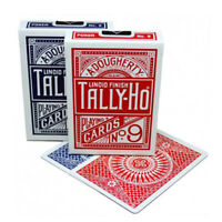 Tally-Ho ORIGINAL CIRCLE BACK playing cards No. 9 Poker Magic tricks 1 Deck USA