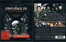 The Expendables --- BLU-RAY --- EXTENDED DIRECTOR 'S CUT --- FSK 18 ---