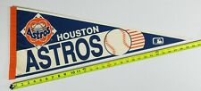 "VINTAGE 1990s Houston Astros MLB 30"" x 12""  Wincraft Pennant VGUC"
