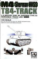 AFV Club 1/35 AF35033 WORKABLE T84 Track Link for WWII US M4 Sherman HVSS