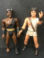 vintage clash of the titans figures Lot Of 2 Some Wear And Tear Please Check Pic