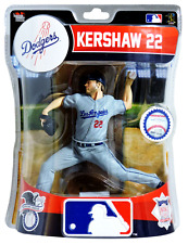Clayton Kershaw LA Los Angeles Dodgers Imports Dragon Baseball Action Figure 6""