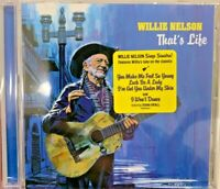 Willie Nelson That's Life 2021 CD