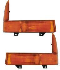 Park Turn Signal Light for 1999-2001 Ford Super Duty Driver & Passenger Set of 2