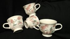 Mikasa coffee cup Silk Flowers replacement  Set of 4