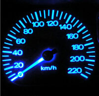 Daewoo Lanos Blue LED  Dash Instrument Cluster Light Conversion Kit
