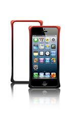 LavoicUSA Apple iPhone 5 5S Diamond-Cut Dual Color Aluminum Case - Black & Red