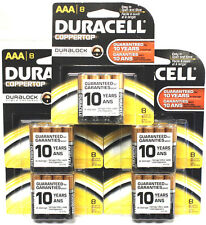40 Pcs Duracell AAA  8 Coppertop Duralock 1.5V Alkaline MN2400BB LR03 Exp 2023