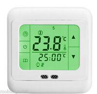 Heat Heating Floor Thermostat for Heater Pump Radiator with Floor Sensor 110-22V