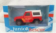 cararama 1/43 junior rescue mercedes benz g - model fire brigade