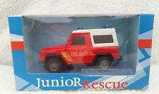 cararama 1/43 junior rescue mercedes benz g - model fire brigade