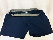 NWOT Under Armour Mens Heat Gear Shorts. 3XL. Blue