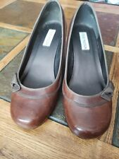 STEVE MADDEN Heals Brown Size 8 VENUSS Pumps Shoes Preowned