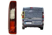 Vaxhall Vivaro Rear Back Tail Light Lamp Left Passenger N/S 2014 Onwards