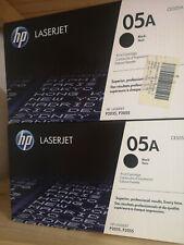2x HP CE505A Black