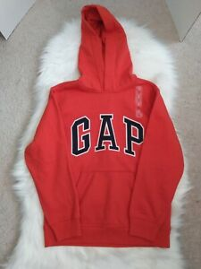 Gap Kids Spell Out Hoodie Orange XL 12 Unisex