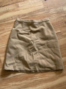 M/&S SIZE 20 OR 24 NATURAL BEIGE MIX STRIPED STRETCH STRAIGHT SKIRT FREE POSTAGE