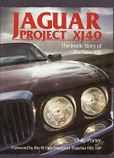 JAGUAR PROJECT XJ40, INSIDE STORY, NEW HARDBOUND CAR BOOK 1987 On Sale $49.50