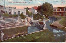 Puerto Rico - 1915 Aquadilla Square and Spring, San Juan used postcard