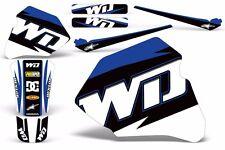 Decal Graphics for Honda XR80-XR100 Dirtbike MX Wrap Motocross Deco 85-00 WD BLU