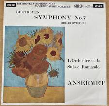 Decca SXL 2235 Ansermet Beethoven Sym.7