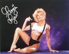 Ginger Lynn Autographed 8 x 10, signed Matte photo RARE!