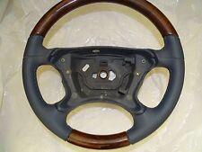 1 Mercedes CLK W209 SL W230 wood steering wheel Holzlenkrad r230 Holz Lenkrad