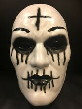 The Purge Plastic Cross Face Fancy Dress Up Mask Child Adult Anarchy Movie 3 2 1