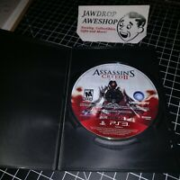 ASSASSINS CREED II 2 PS3 PLAYSTATION 3 (DISC ONLY) USED, TESTED & WORKING. WEAR