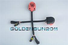 2x AMP to D2S/D2R/D2C HID Bulb To Aftermarket Ballast Wire Converter Adater Plug