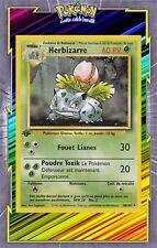 🌈Herbizarre - Set de Base Edition 1 - 30/102 - Carte Pokemon Neuve Française