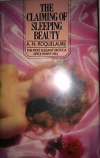 THE CLAIMING OF SLEEPING BEAUTY BY A.N. ROQUELAURE *FIRST UK ED*ANNE RICE*