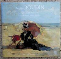 Eugène Boudin Peintures dessins Catalogue raisonné Musée E Boudin Honfleur 1996