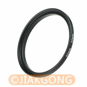52mm-55mm 52-55 mm Step Up Filter Ring Stepping Adapter