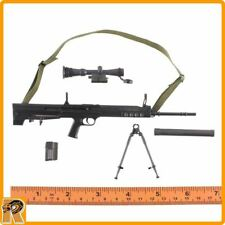 Chinese PLA Special Forces - QBU88 Sniper Rifle Set - 1/6 Scale - Damtoys Figure