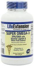 Life Extension Super Omega-3 EPA/DHA 240 softgels
