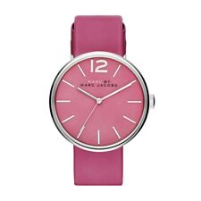 Marc by Marc Jacobs Women's Peggy White Pink Strap Watch MBM1363