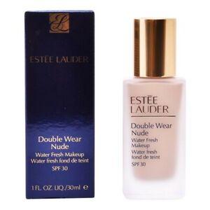 Background Of Makeup Fluid Double Wear Nude Estee Lauder