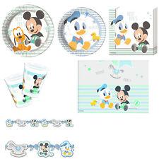 KIT DA TAVOLA BABY MICKEY Party Festa Compleanno Disney Topolino Minnie Mouse