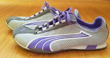 PUMA Running Sneaker Eco OrthoLite Gr.38,5 Grau/Violett UK5 1/2 Gray/Purple