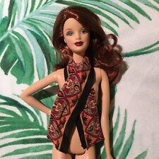 Barbie 1:6 Printed Head Neck Scarf Accessory New York Winter Autumn