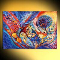 The Chagall Dreams: spiritual Jewish art figurative painting  Elena Kotliarker