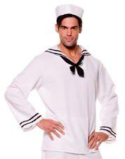 Sailor Shirt & Hat Mens Halloween Costume Sz XL New in Pkg $19.99 Retail