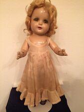 "Vintage Composition 'Arranbee'? '""Nancy""? Doll 16 inch Blonde, 4 teeth tongue"