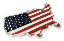 Fs1 American Usa Us flag full metal decal Car truck laptop phone etc great gift