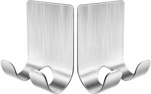 Razor Holder For Shower,(2Pcs)Shower Razor Holder, Shower Razor Hook,Stainless S