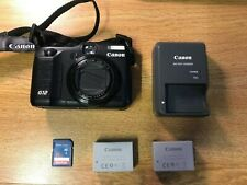 Canon PowerShot G7 10.0MP Digital Camera With EXTRA BATTERY AND SD CARD