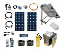 Solar Well Pump System - PV Powered Water Pumping Kit - Off-grid Solar Pump